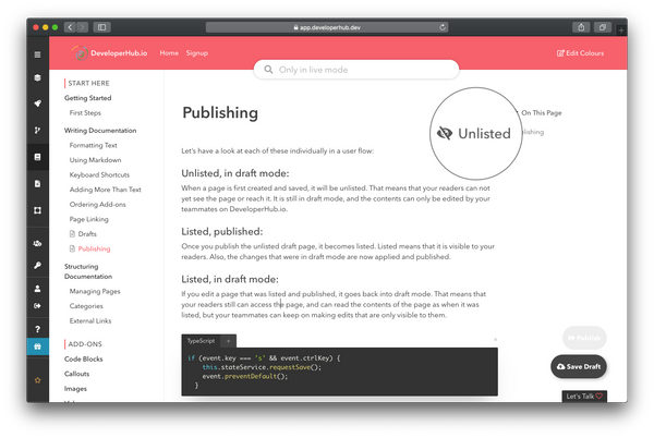 Draft — Publish When Ready
